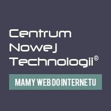 Nowa strona Centrum Nowej Technologii
