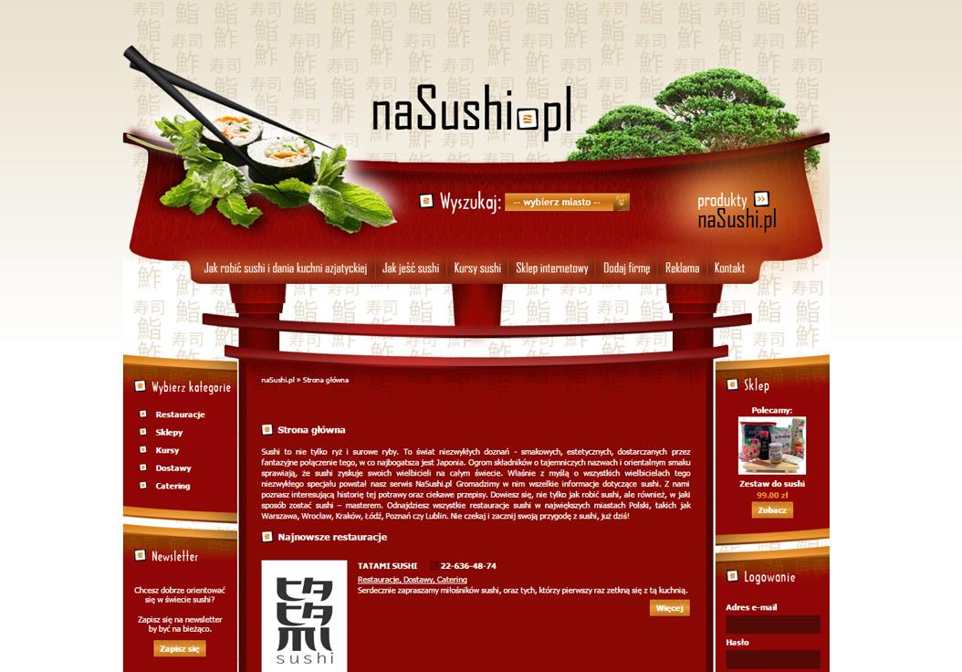Na sushi