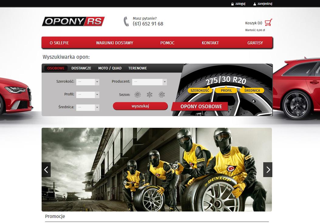 Opony RS