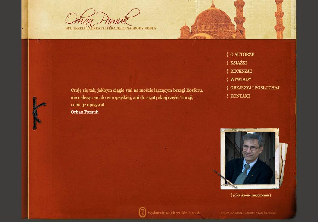 Noblista Orhan Pamuk