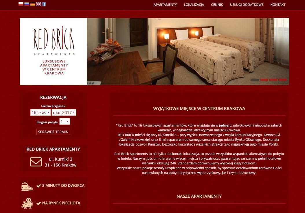 Redbrick.pl - apartamenty w centrum Krakowa