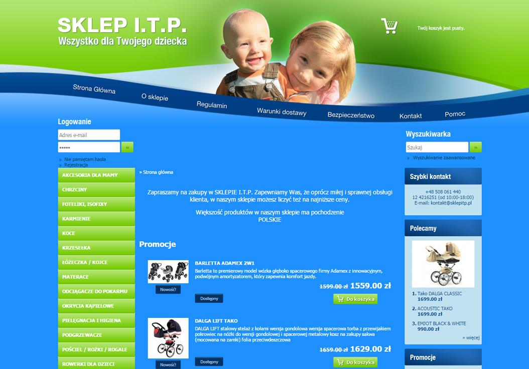 ITP - sklep dla dzieci