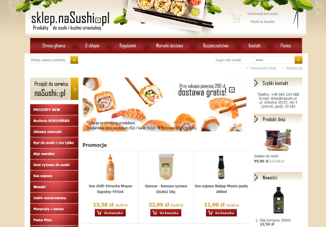 Sklep Na sushi